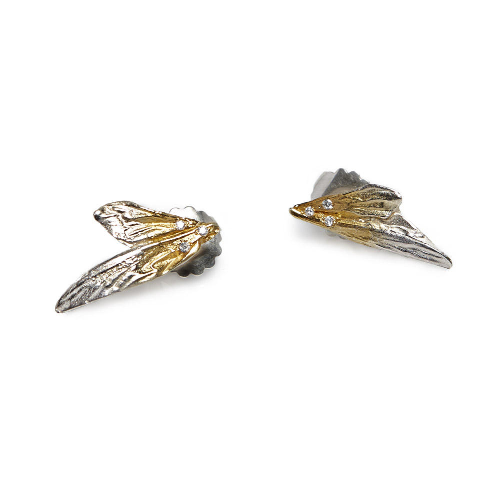 EXOSKELETON‏ WING EARRINGS