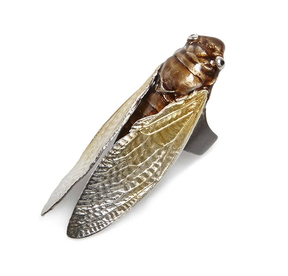 EXOSKELETON CICADA RING