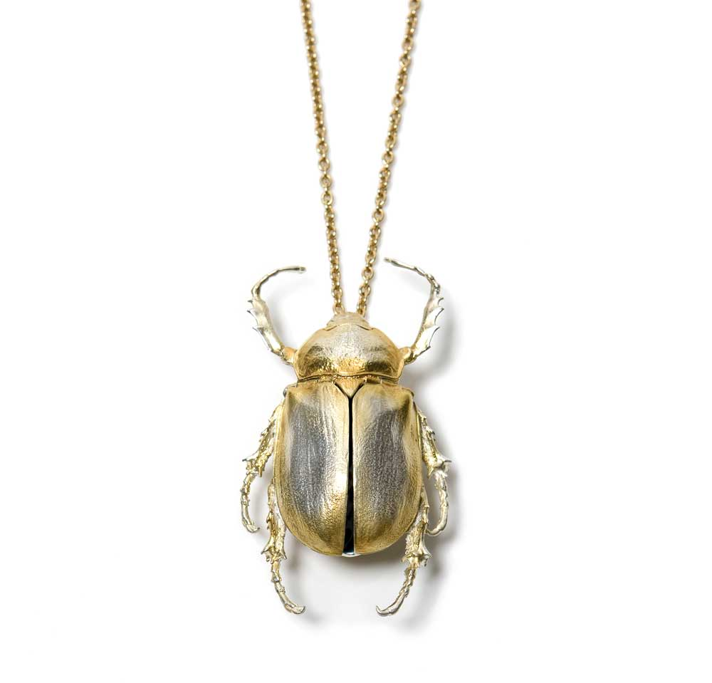 LARGE BEETLE NECKLACE