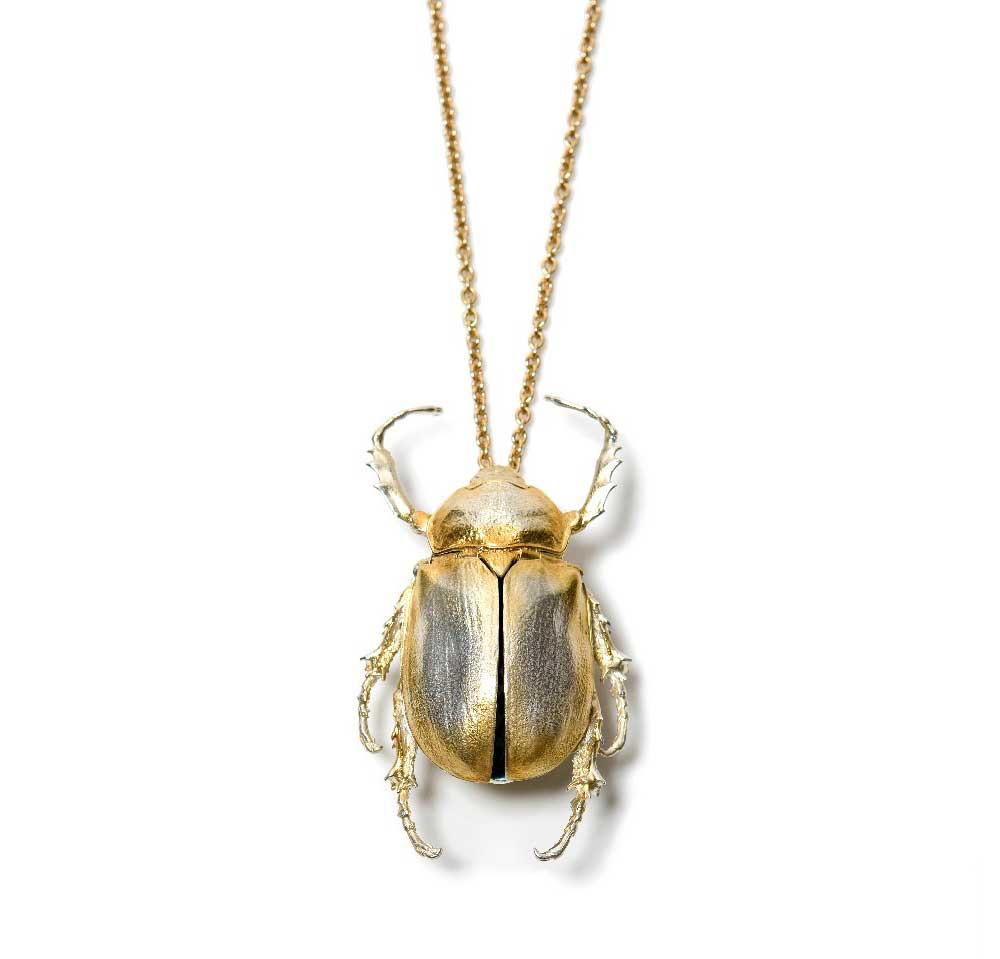 LARGEST BEETLE NECKLACE