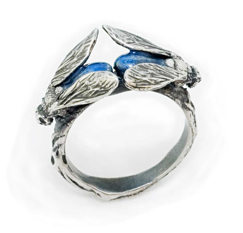 BLUEBOTTLE FLY RING